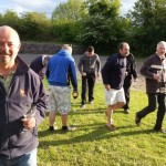 Boules and wine!