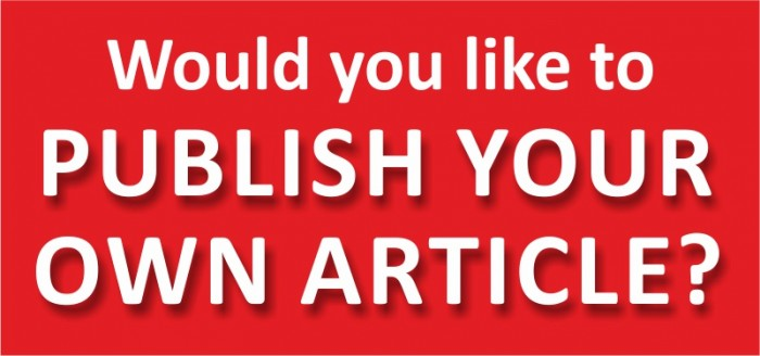 Submit your own articles