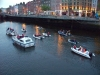 17 79 boats on Liffey by J Cahill