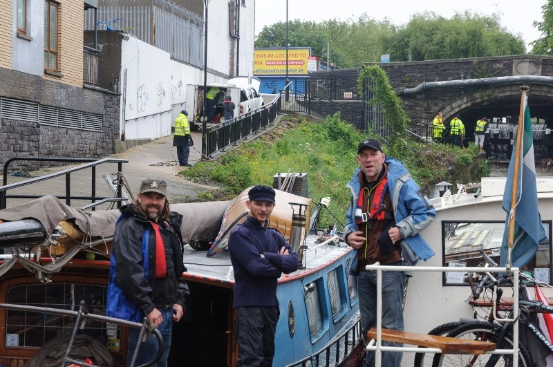 2012 0603 Royal Canal waiting for lock by Conor Nolan C88F4