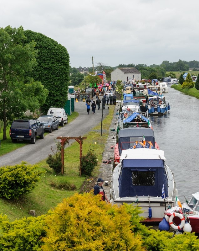 2012 0701 Royal Canal boats in Brannigan Harbour by Conor Nolan 7CAB73F2