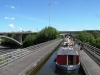2012 0604 Royal Canal queueing for Castleknock Lock by Declan Woolhead DSCN3510