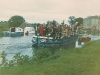 1972 3 Barges at Grand Canal Festa © M Malone