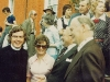 1975 5 Mr and Mrs Fitzpatrick and Sir Arthur Galsworthy at Grand Canal Festa © M Malone