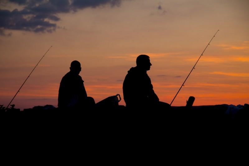 GarryKennedy Waiting for Fish