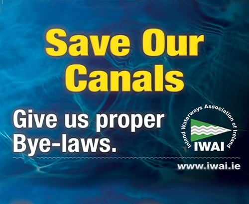 IWAI Press Release No. 6 Heritage Bill to determine the future of Ireland's Canals