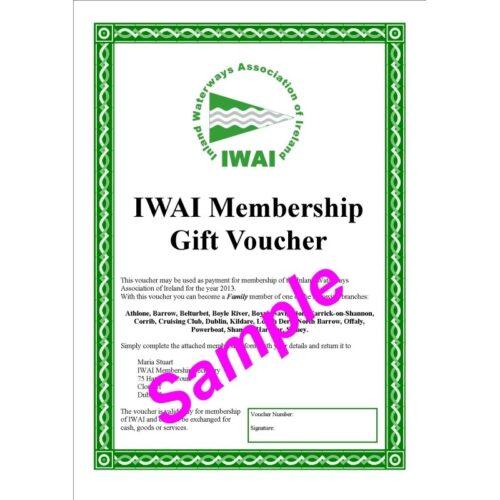 Membership Gift vouchers