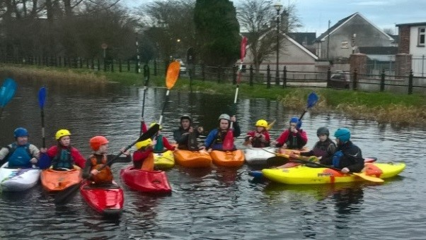 Offaly Waterways Honoured in St Patrick's Day Parade