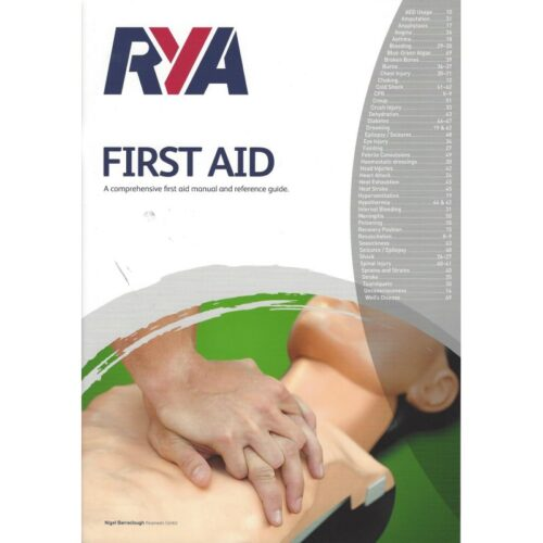 RYA First Aid Manual 800