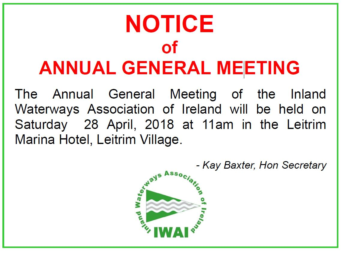IWAI Annual General Meeting 2018