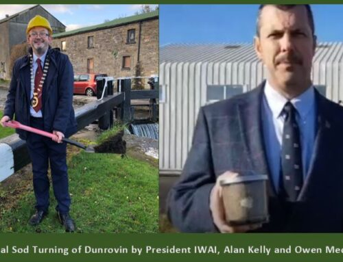 The virtual sod turning of Dunrovin