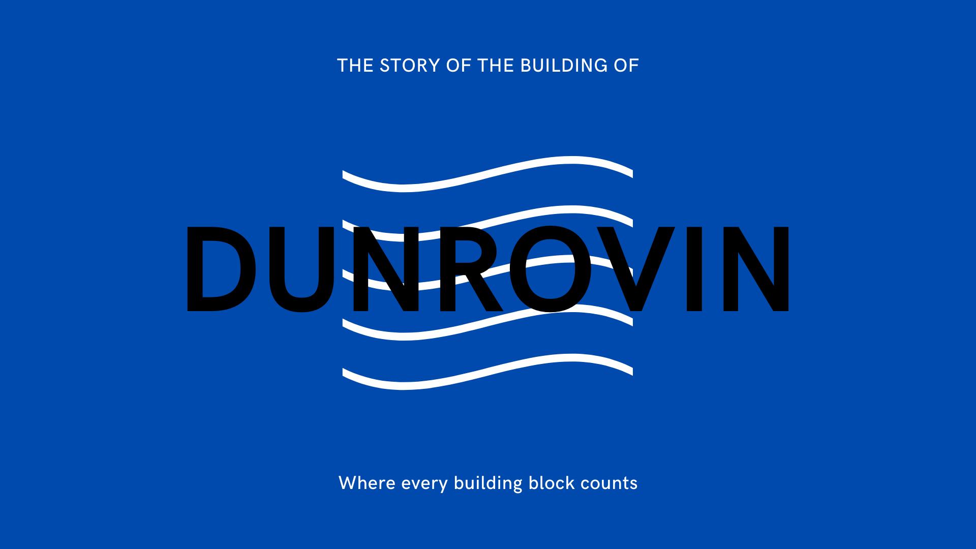 Video of progress in Dunrovin build